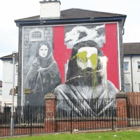 The Hunger Striker in Derry's Bogside