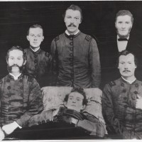 Kirk boys and their father, Alexander