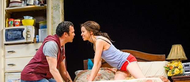 Flor de Liz Perez with Ricardo Chavira at the National Theater